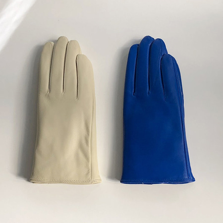 Song Leather Gloves - 21색상 - 선물포장