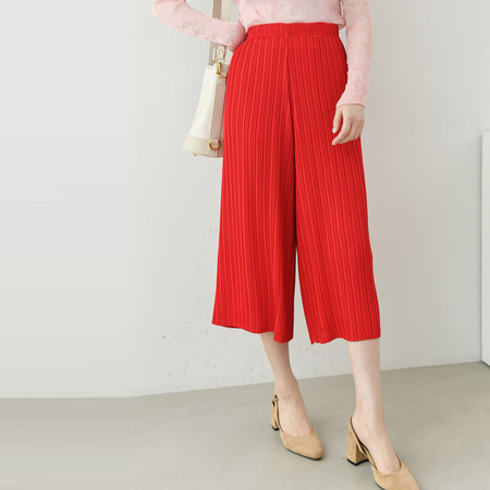 Pleats Wide Pants - 7부