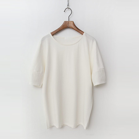 Silky Cotton Puff Tee
