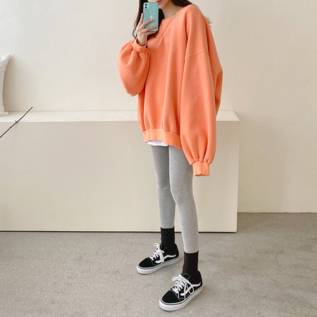 Gimo Cotton Puff Boxy Sweatshirt