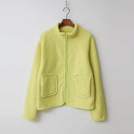Teddy Bear Zip-Up Jumper