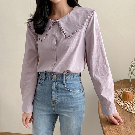 Circle Sailor Blouse