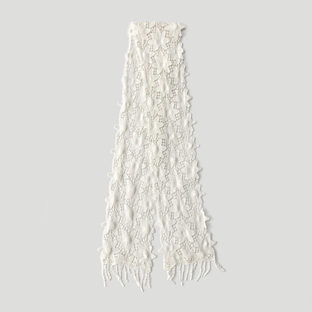 Star Lace Tie Scarf