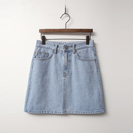 Butter Denim Mini Skirt