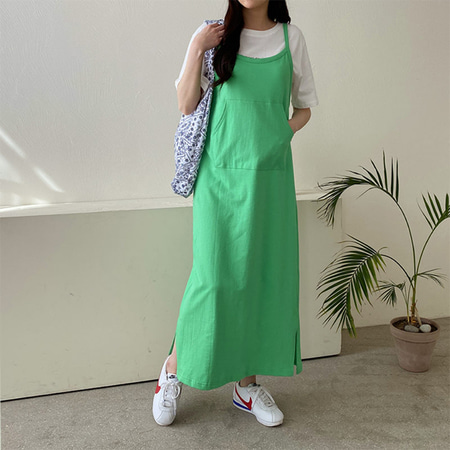 Cami Overall Long Dress
