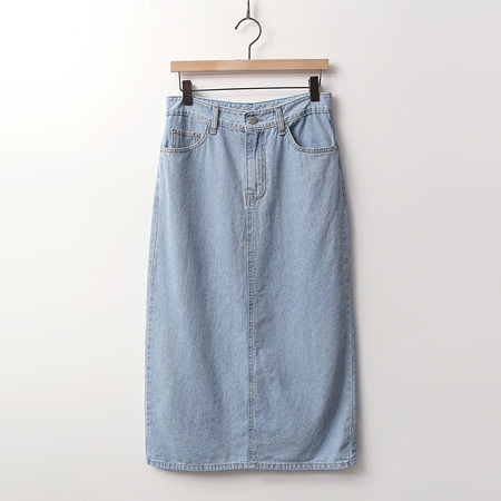 So Denim Long Skirt