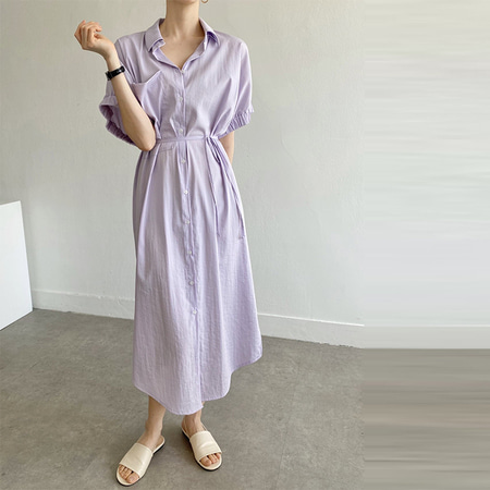 Rebecca Shirts Long Dress