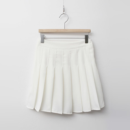 Tennis Pleated Mini Skrit