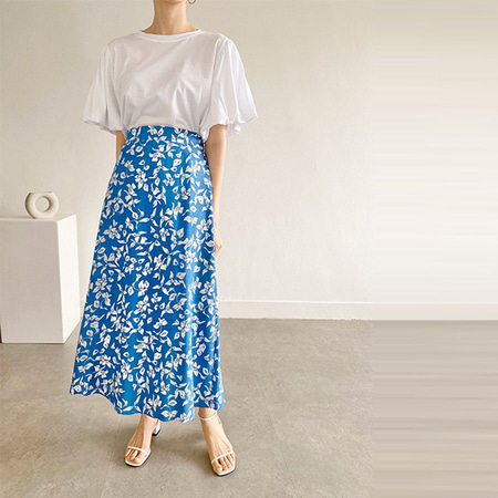 Linen Mimi Long Skirt