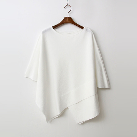 Unique Tencel Cape Tee