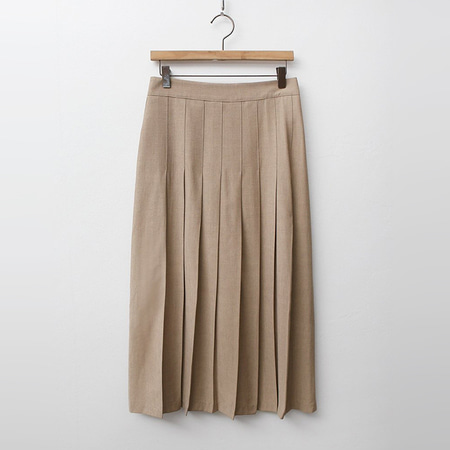 June Front Pleated Skirt
