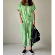 Cotton Circle Jumpsuit